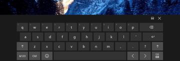Cách bật bàn phím ảo trên Windows 10