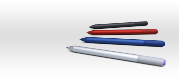 """Bút Surface Pen bọc vải mới """"rục rịch lên đèn"""""""