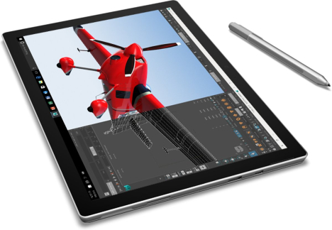 Surface Pro 4 | Core i5 / RAM 4GB / SSD 128GB 9