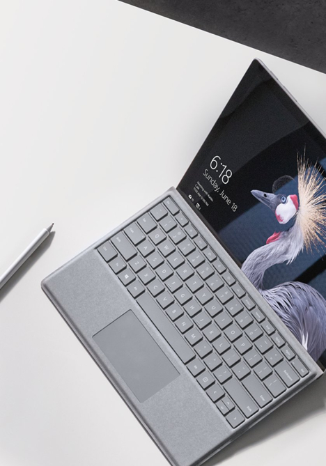 Surface Pro 5 ( Pro 2017 ) | Core m3 / RAM 4GB /  SSD 128GB 3