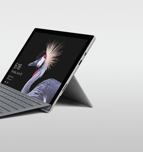 Surface Pro 5 ( Pro 2017 ) | Core m3 / RAM 4GB /  SSD 128GB 15