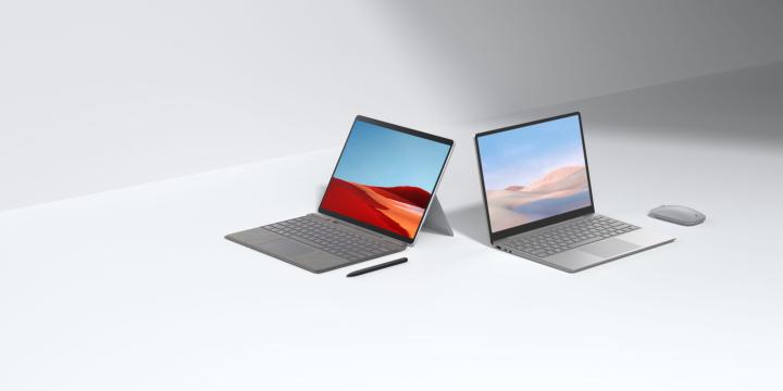 Surface Laptop Go với mức giá siêu ấn tượng tại sự kiện ra mắt ngày 1/10/2010 của Microsoft