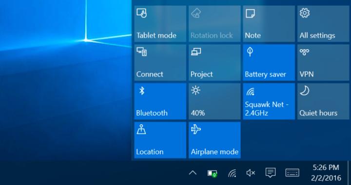 Bí quyết tiết kiệm pin trên Windows 10 - SurfacePro.vn